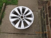 "Genuine VW passat CC, Phaeton 17"" 5 x112 Stud Alloy Wheel"