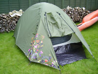 EUROHIKE 2 MAN TENT WITH FLYSHEET...NEW AND UNUSED.