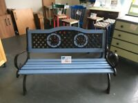 Upcycled Wooden Garden Bench