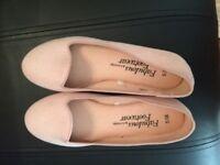 New nude ladies ballet pumps