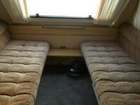 small 2 berth caravan