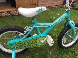 "Apollo Petal Kids' Bike - 14"""