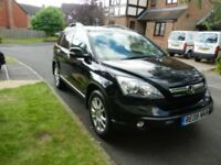 2008 Honda CRV EX 2.2 Diesel Black, leather, manual