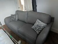 *NEW* OAK FURNITURE LAND SOFA WITH RECEIPT