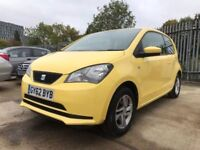 2012│Seat MII 1.0 12v SE 3dr│2 Former Keepers│MOT Till August 2018│AUX Input│£20 Road Tax│Hpi Clear