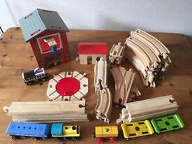 Train track and accessories