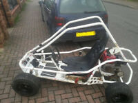 Murray harddrive off road buggy 200cc 6.5hp