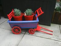 Hay cart for indoors or outside