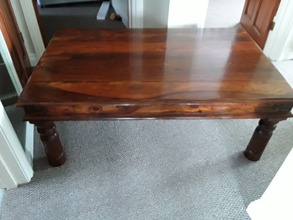 Solid Wood Coffee Table 47 Inches Long 30 Wide 18 High In Hemsby Norfolk Gumtree