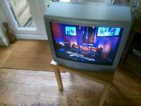 Sharp 21 inch CRT TV with Scart connection