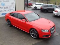 2010 AUDI A5 2.0 TDI S LINE 168BHP SPORTBACK 5DR ( FINANCE & WARRANTY AVAILABLE)