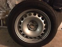 4 Winter Michelin Alpin 5 tyres and Steel Wheels 205/60 R16 to fit Alhambra/Sharan/Galaxy