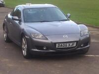 2005 MAZDA RX8 192 LEATHER SPACE GREY STARTS AND DRIVES LOVELY LADY OWNED 6 YEARS RX-8 RX