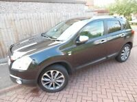 Nissan Quashqai 1.5 DCI N-Tec 2009 2WD Panoramic Roof and reverse camera FULL MOT