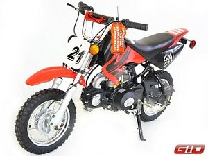 ALL NEW 70cc mini dirt bike GIO