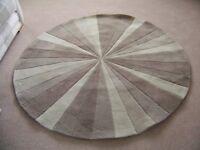 circular rug by NEXT
