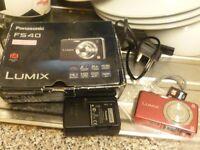 BOXED PANASONIC FS 40 DIGITAL CAMERA