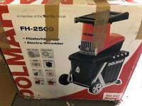 Dolmar FH-2500 electro garden shredder. Brand new