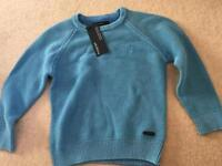 Autograph 2-3 years blue sweatshirt jumper brand new with tags