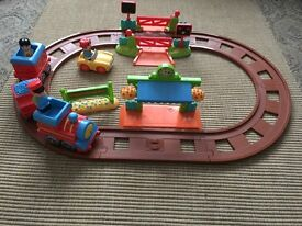 Happyland train set with extension pack