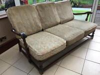 """Ercol """"Old Colonial"""" 3-seat sofa"""