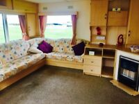 FANTASTIC 2 BEDROOM STATIC CARAVAN FOR SALE- PET FRIENDLY- LOW FEES- NORTH EAST- DEPOSITS FORM 10%!!