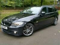 2012 12 BMW 318D SPORT PLUS EDITION TOURING*FSH*NAVIG'N*LEATHER*H/SEATS*I-DRIVE*#530D#AVANT#M SPORT