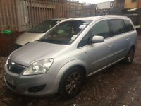 VAUXHALL ZAFIRA, BREAKING FOR SPARES