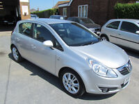 2010 vauxhall corsa 1.4 se silver only 71000 miles