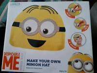 Make your own minion hat
