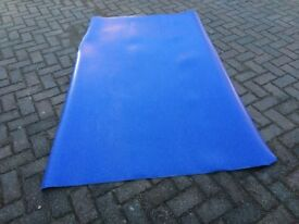 Wet room flooring, blue, anti-slip ** New, excess to requirements ** ONLY £50 or nearest offer