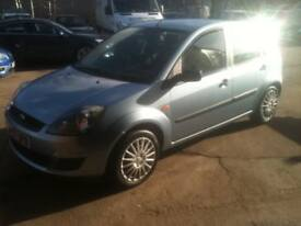 07 PLATE FORD FIESTA 1.2 STYLE 5DR 62000MILES £2650