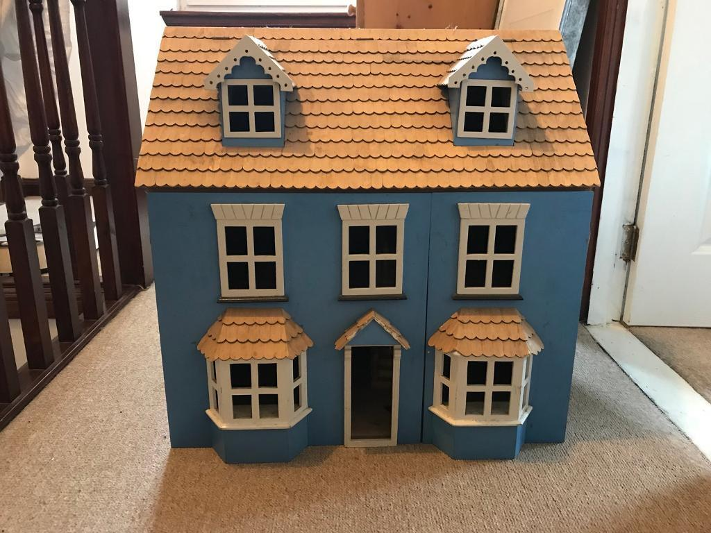 Lovely Old Dolls House For Sale Lots Of Furniture Included Quick