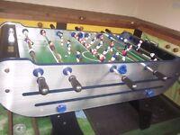 Table football machine, heavy duty