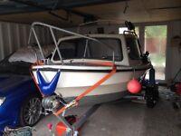 14ft dejon cabin boat/fishing boat