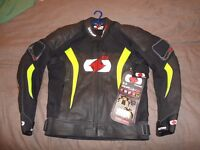 OXFORD RP 3 RP -J3 BRAND NEW MOTORCYCLE LEATHER JACKET RRP£169.99