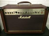 Marshall as50d AS 50 D acoustic amplifier amp with inbuilt effects