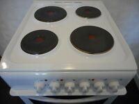 4 plate solid hob INDESIT double cavity cooker...like new !!
