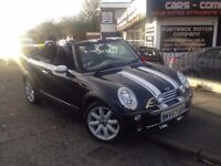 2007 MINI CONVERTIBLE 1.6 ONE 2DR CONVERTIBLE , FRONT FOG LIGHTS , LOW MILEAGE , WOW GREAT LOOKING