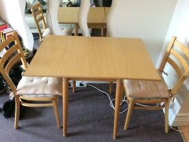 Dining Table & 2 Chairs