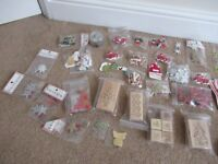 Christmas / Xmas Craft Large Craft Bundle – card, stamp, card making scrapbooking