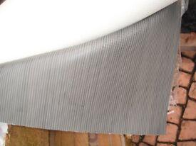 Vinyl flooring Lino Modern Grey striped, perfect, Brand new Unused 2m x 2. 6m