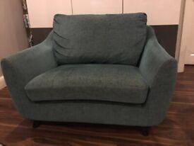 G plan chair / love seat / small sofa