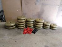 York Dumbell/Barbell Weight Plates