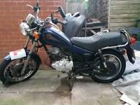 Yamaha SR 125cc Learner Legal