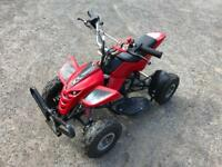 Mini Quad 50 cc 2-stroke engine