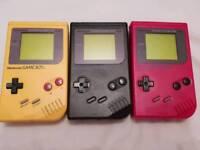 Nintendo Game Boy DMG-01 Consoles