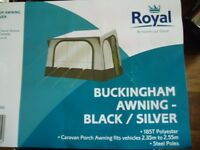 Royal Buckingham Awning Brand New