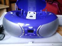 Bush Boombox CD MP3 Player Radio