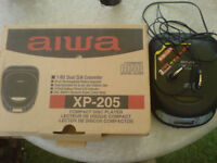 Aiwa XP-205 CD Walkman Personal CD Player in box